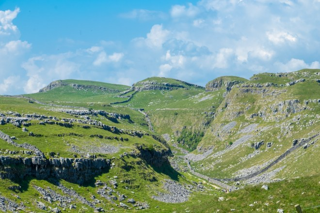 This is the area above Malham Cove in the Yorkshire Dales.