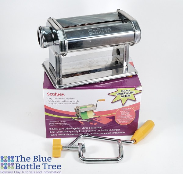 Read a review of the Sculpey Clay Conditioning Machine, one of the cheap pasta machines we use with polymer clay.