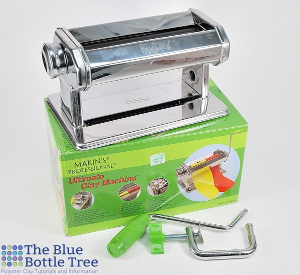 Read a review of the Makins Clay Machine, one of the cheap pasta machines we use with polymer clay.
