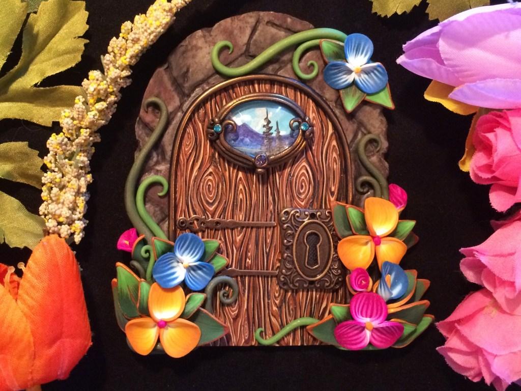 Spring Door by Jennifer Sorensen of Wishing Well Workshop