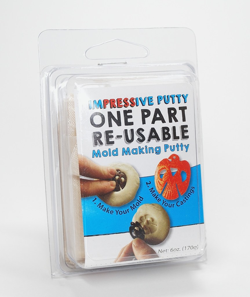 ImPRESSive Putty is a reusable mold material that's excellent for use with polymer clay.