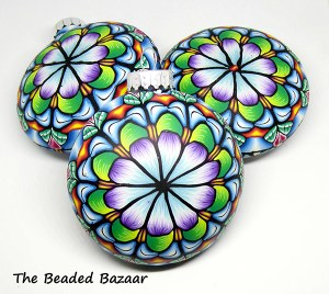 Ornaments by Krithika Parthan of The Beaded Bazaar