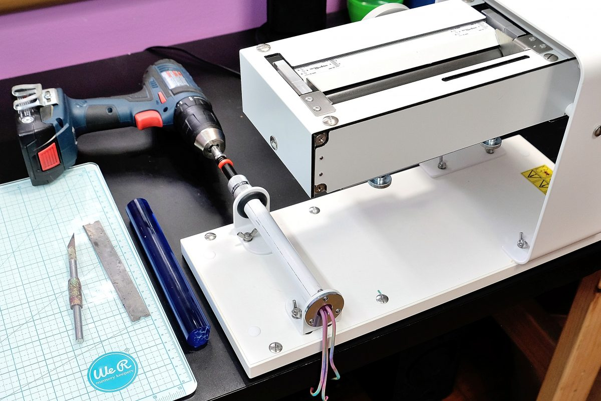 Extruding polymer clay with the Czextruder in the LC Machine Squirrel.