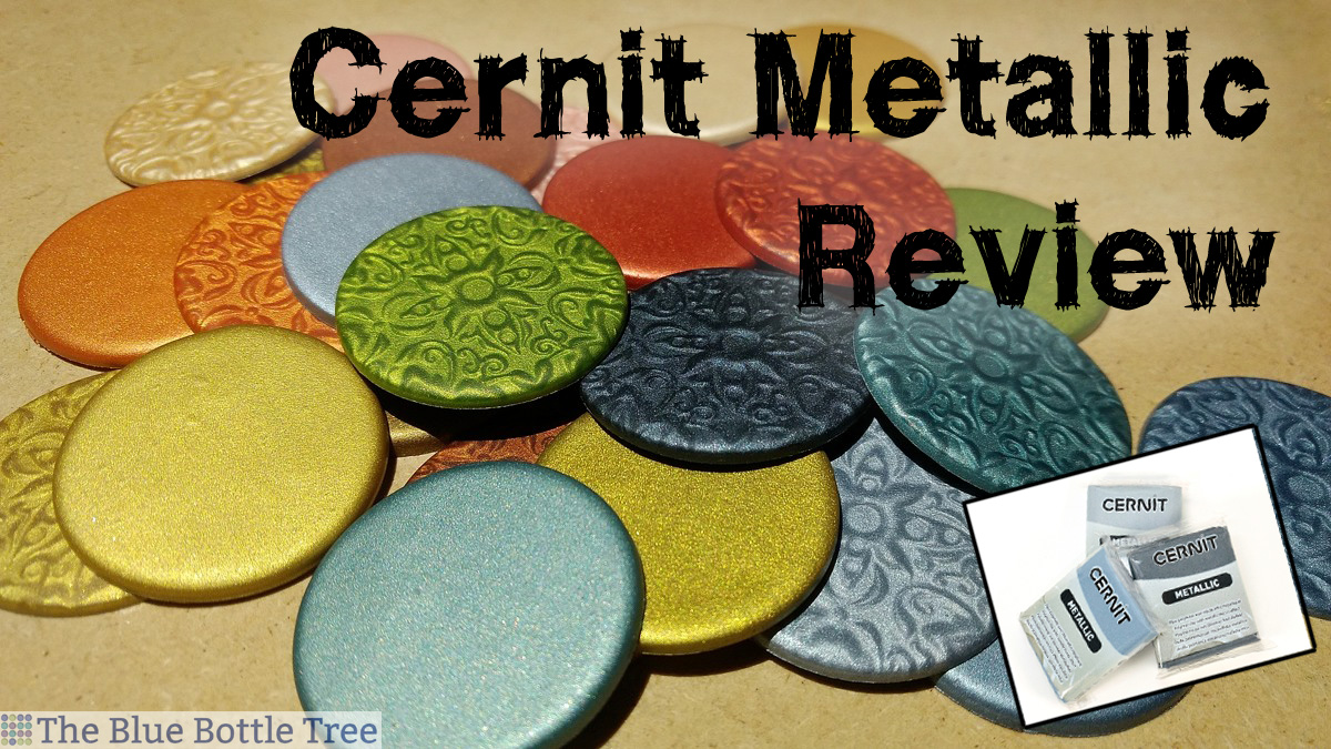 Excellent polymer clay! Cernit Metallic Review.