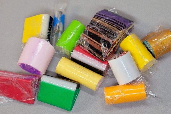 Lots of people store polymer clay canes wrapped in plastic. This makes it hard to see what you have.