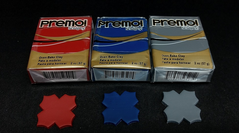 Here are the new Premo colors of polymer clay for Spring 2019.