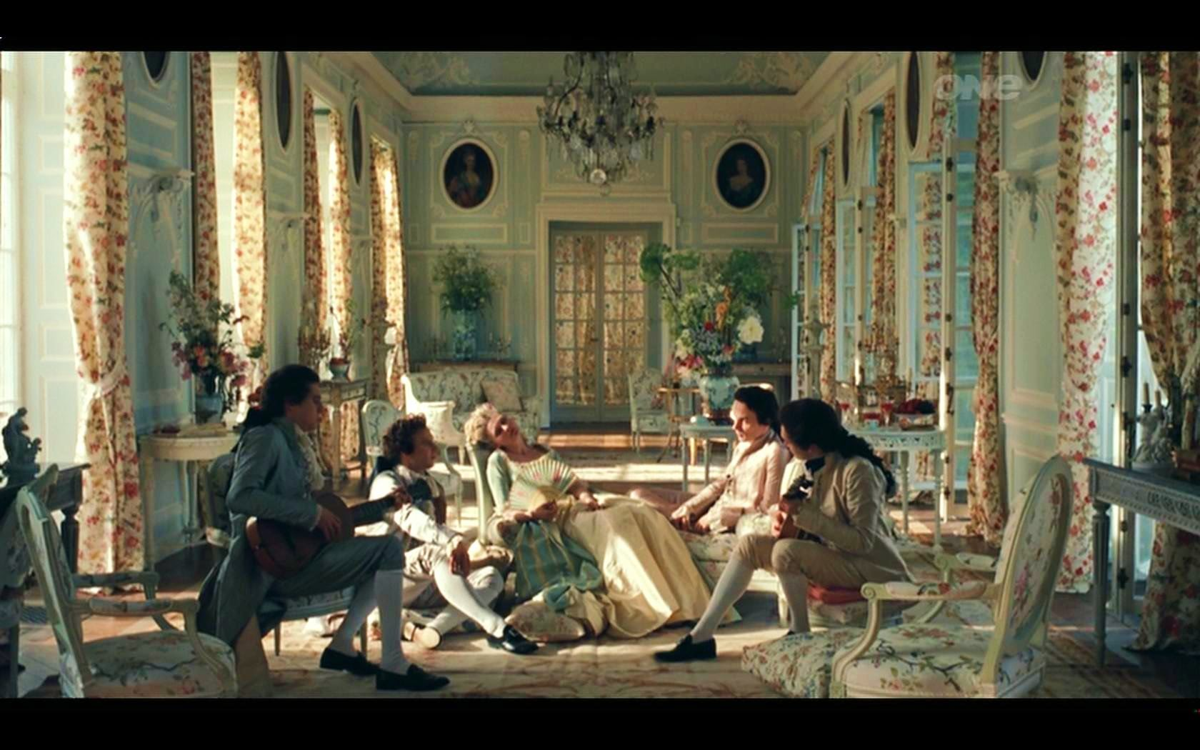 Costume Movie With Extravagance Marie Antoinette The Extravagant Living Room