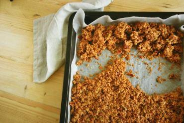 Maple Pecan Granola