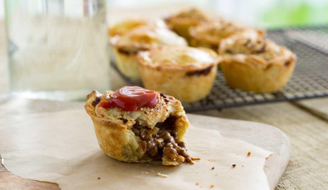 The classic Aussie Meat Pie