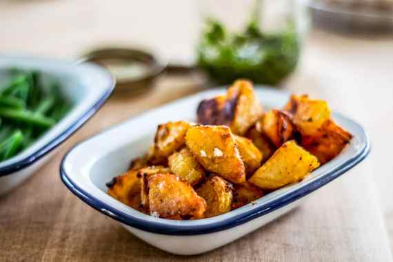 Summer Roast Potatoes