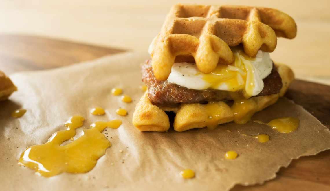 Southern Cornmeal Waffles