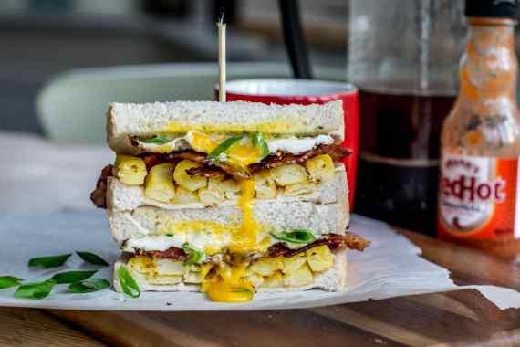 Rough Night Recovery Sandwich