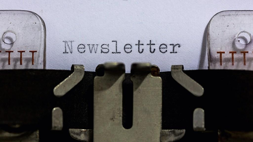 Mein Newsletter