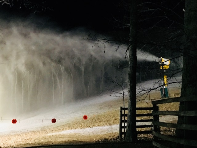 Wintergreen Resort Conditions for Ski/Ride on a specific weekend.
