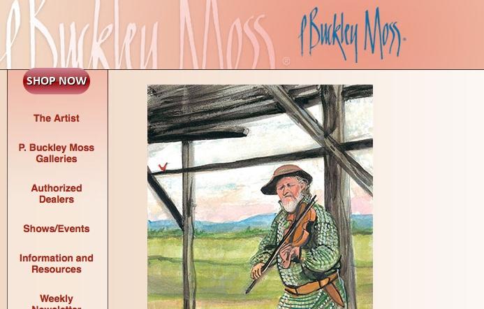 P. Buckley Moss Gallery (540-949-6473) 329, West Main St. Waynesboro, VA