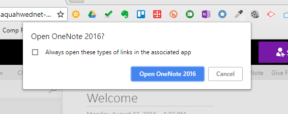 Class Notebook OneNote 2016 - Step Two A
