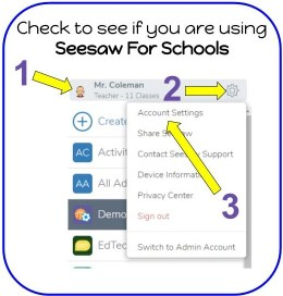 Seesaw for Schools Check 1