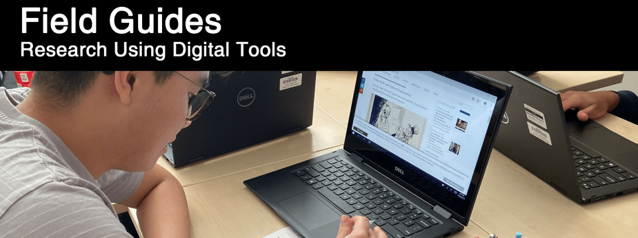 Field Guide Header Tools for Digital Research