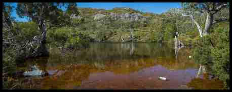 Wombat Pool Panorama, Cradle Mountain Tasmania