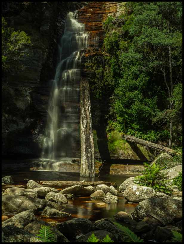 Snug Falls south of Hobart, Tasmania