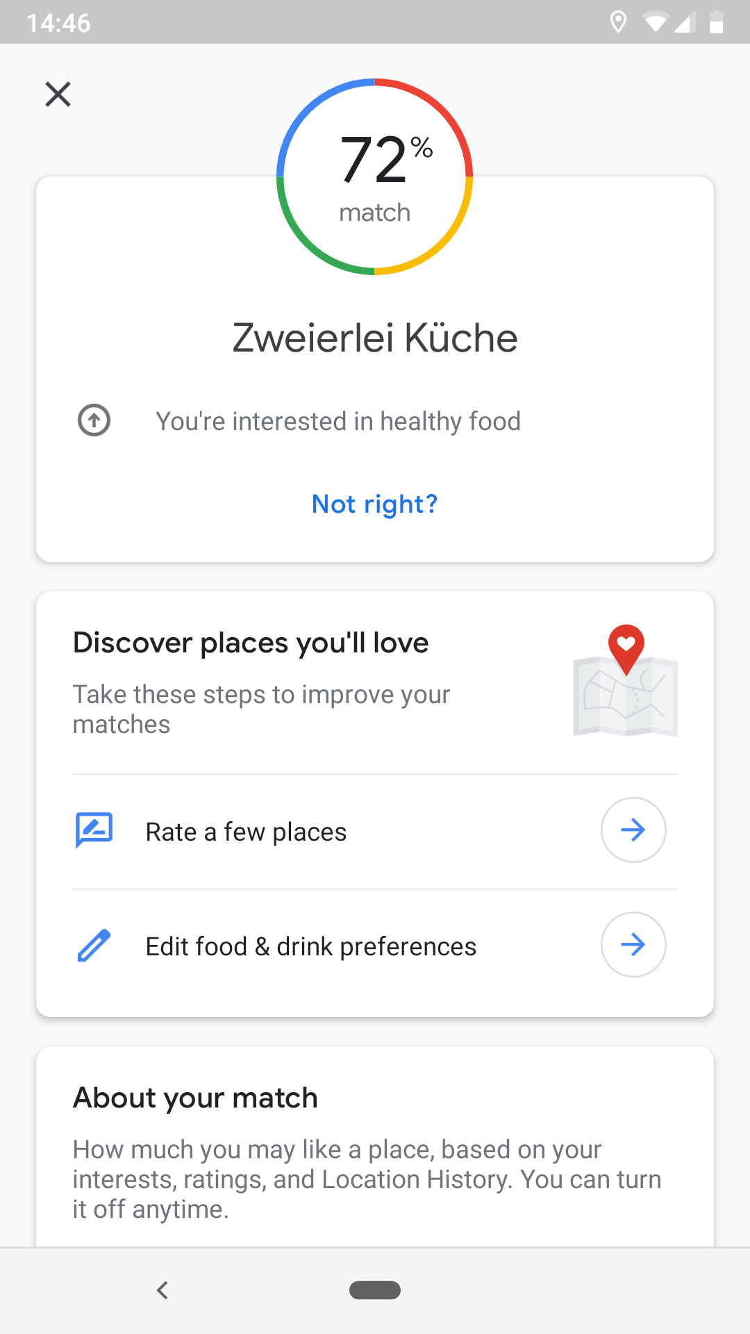 Finding Restaurants Nearby With Google Maps - The Boarding Pass