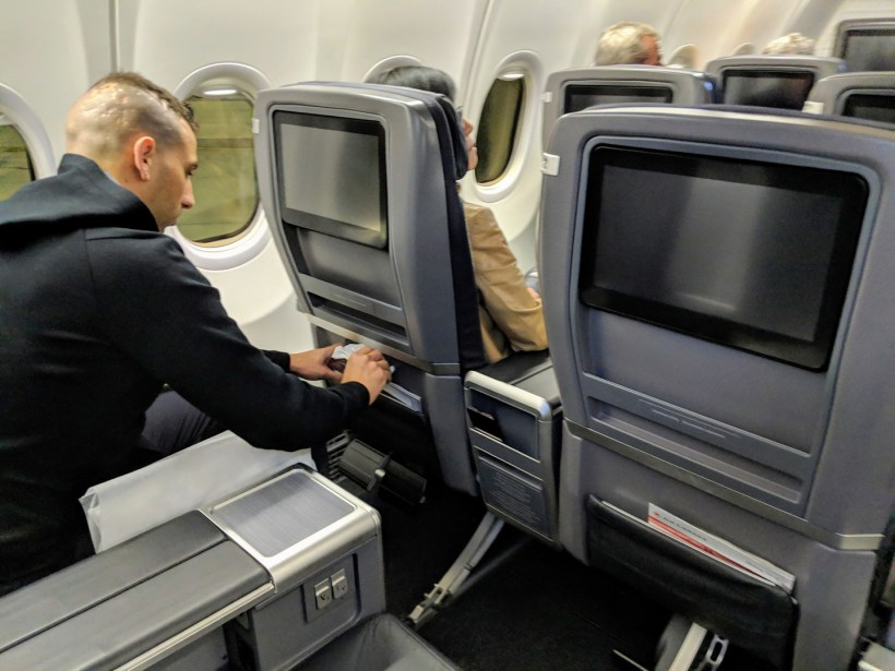 Air Canada Boeing 737 MAX 8 Business Class Seat