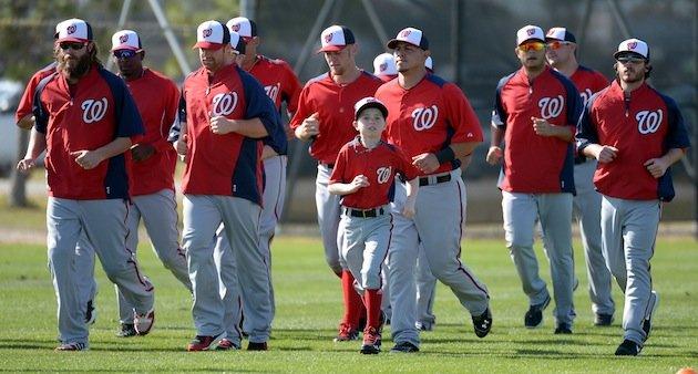 MLB -Washington Nationals spring training