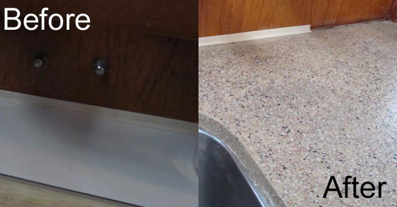 Genial Restoring Formica The Boat Galley. Daich Spreadstone S Mineral Select  Countertop Refinishing Kit