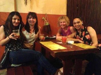 Frozen Margaritas at Cafe Mexicho