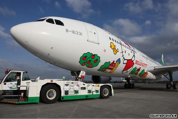 Hello Kitty - EVA Airways (Photos!) (1/6)