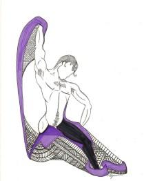 Dancer. (c) 2014. Bobby James.