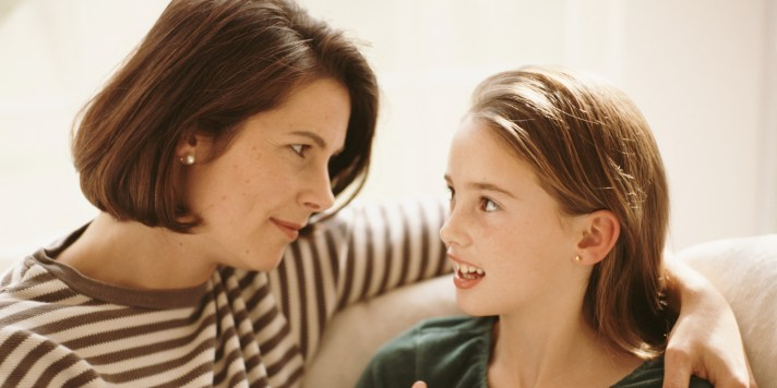 Image result for parents talking to kids