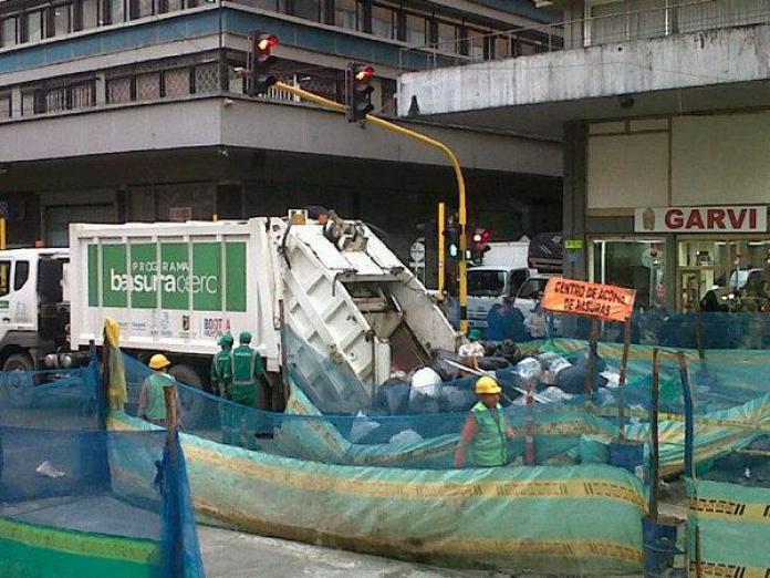 Bogotá environment, Bogotá recycling