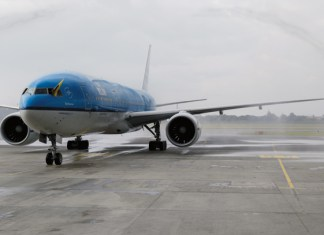 KLM Bogota Amsterdam