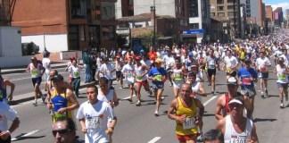 Running in Bogota, Bogota half marathon