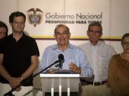 FARC negotiators, Colombian peace process