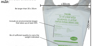 Plastic bags Colombia