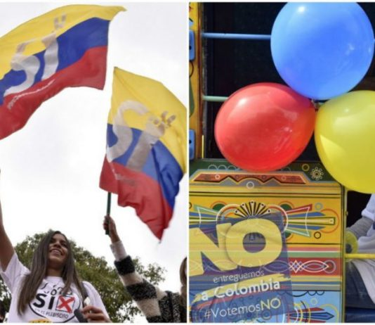 Today sees millions of Colombians head to the polls to vote 'Yes' or 'No' on the peace deal with the FARC