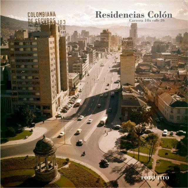 Residencias Colon, Bogotá architecture, Bogotá buildings,