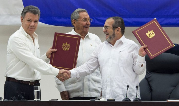 Image result for colombia peace process