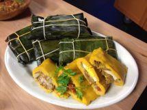 Hallacas, traditional Christmas food