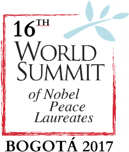 Nobel Peace Laureates, Nobel Peace summit Bogotá