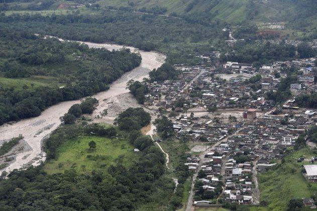 Mocoa, landslide Colombia