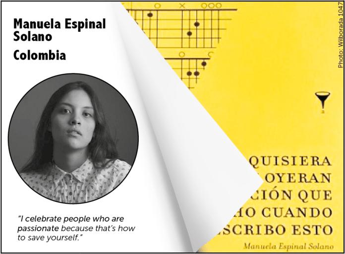 FILBo 2017, Manuela Espinal Solano