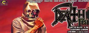 Death Fest - Chuck Schuldiner Tribute @ Auditorio Lumiere | Bogotá | Bogotá | Colombia
