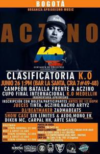 Aczino en Bogotá @ La Santa Bar Chápinero | Bogotá | Bogotá | Colombia