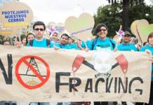 Fracking in Colombia