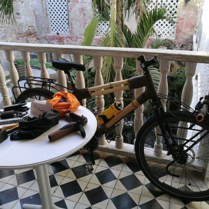 Kate Rawles, bamboo bicycle