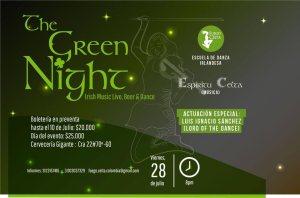 The Green Night @ Cervecería Gigante | Bogotá | Bogotá | Colombia