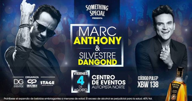 Marc Anthony and Silvestre Dangond